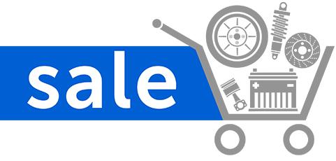 sale on car parts